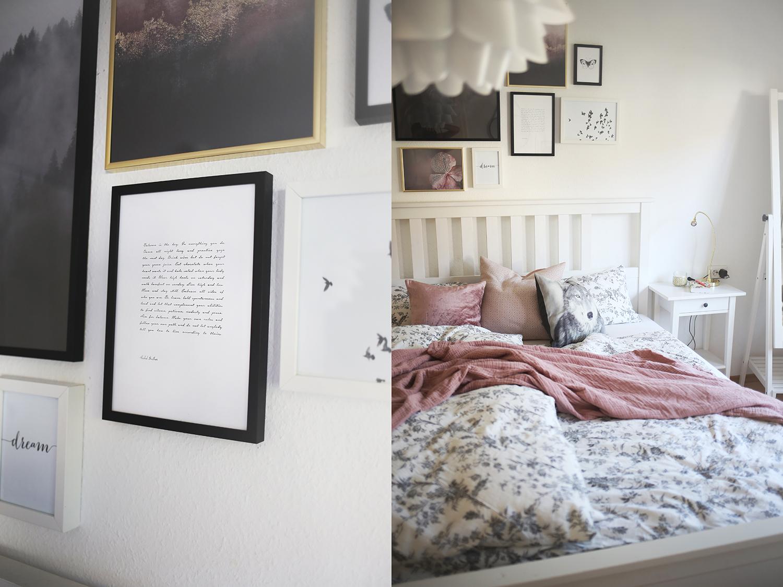 Wandgestaltung Schlafzimmer Online