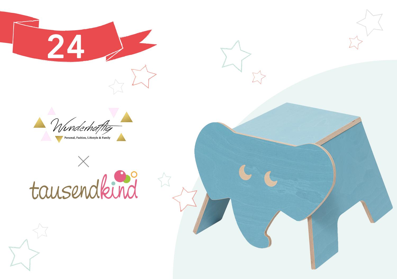 Julica Design gewinnt einen elefanten-hocker von julica design | wunderhaftig